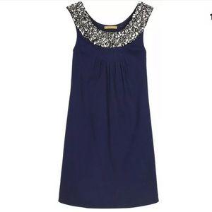 Alice + Olivia Navy Blue Sleeveless Dress
